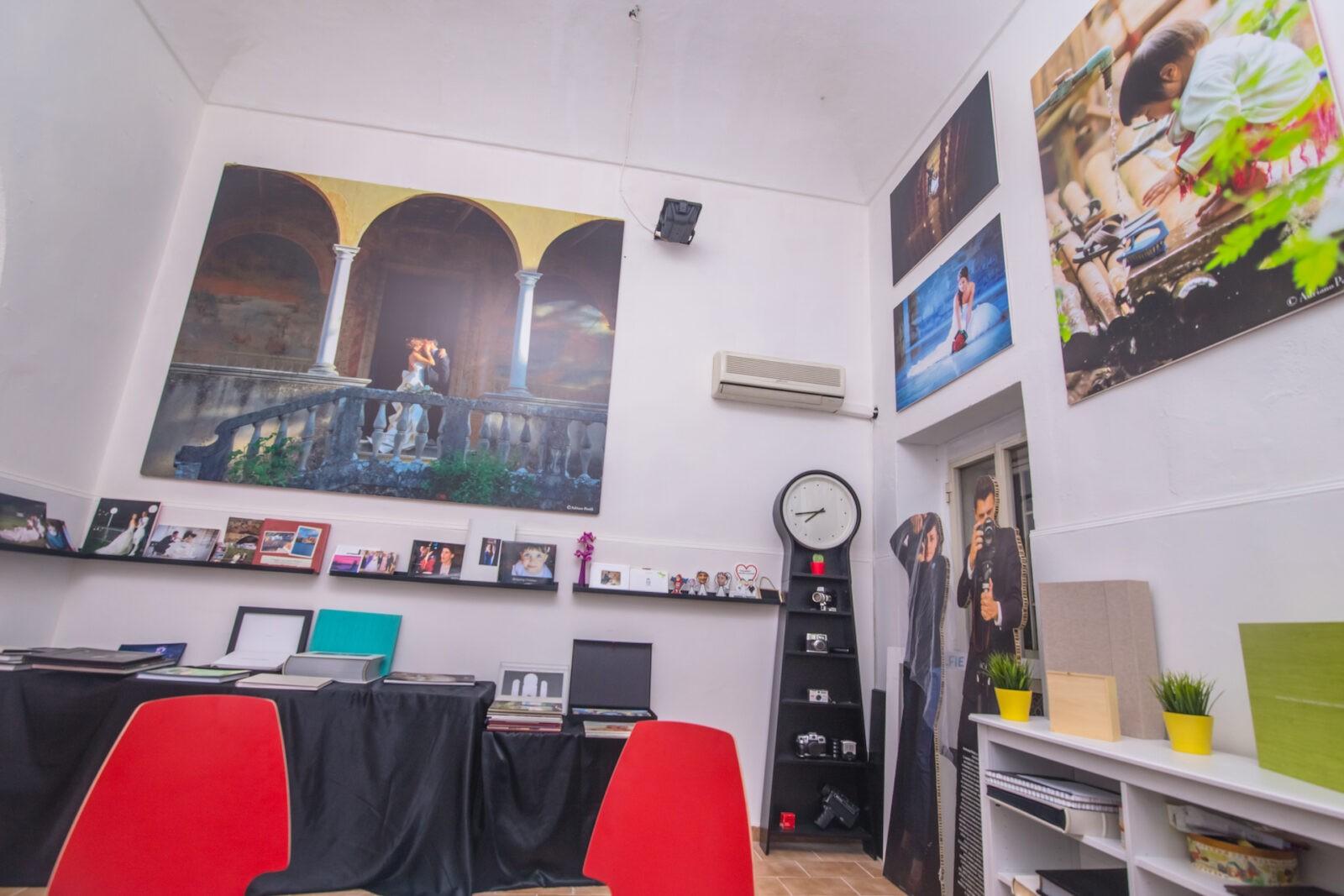 Il nostro Studio Fotografico: un ambiente accogliente e colorato
