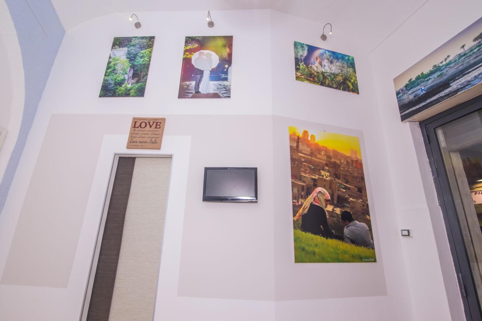 L'ingresso del nostro Studio Fotografico